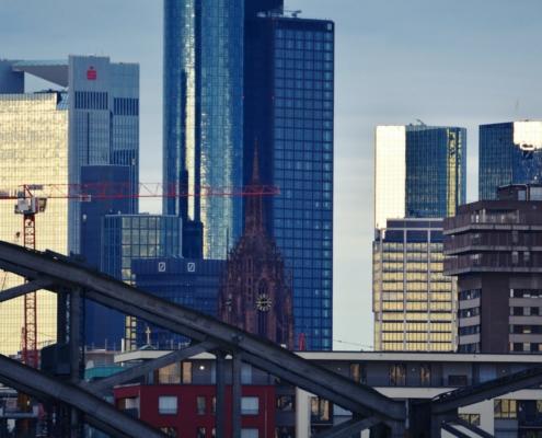 Frankfurt Main Skyline